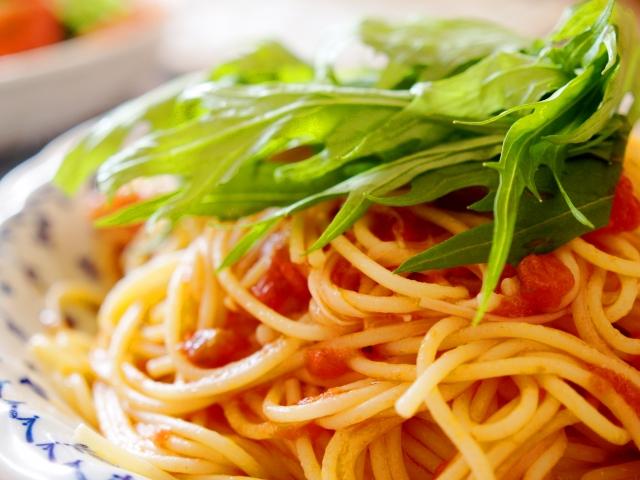 主婦のお昼ごはん 残り物アレンジスパゲティ