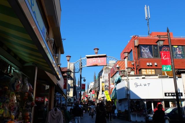 鎌倉の小町通りは美味しい楽しいお店が沢山あって歩くのが楽しい