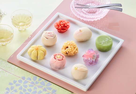 上生菓子詰め合わせ-花色- 恵那川上屋